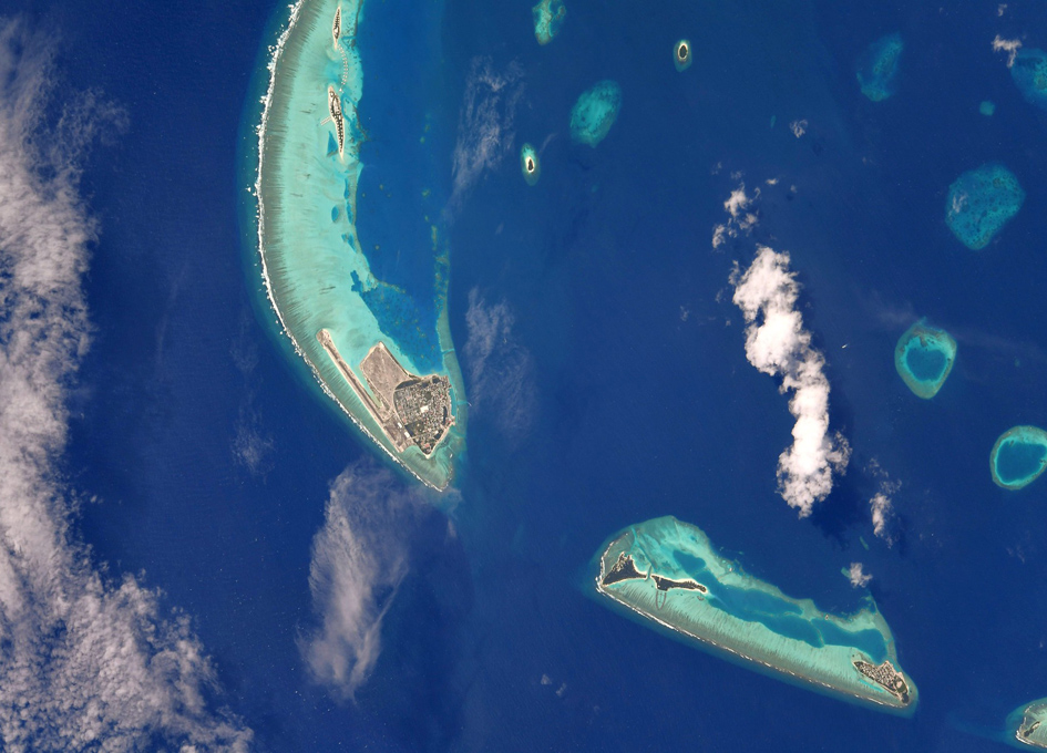 The Maldives As Seen From Orbit