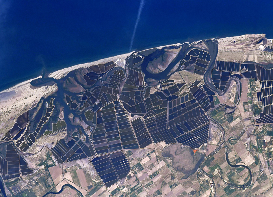 Mexican Crop Art Seen From Space