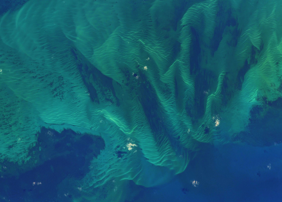 The Bahamas As Seen From Earth Orbit