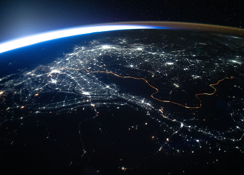 A Border You Can See From Space: Pakistan And India