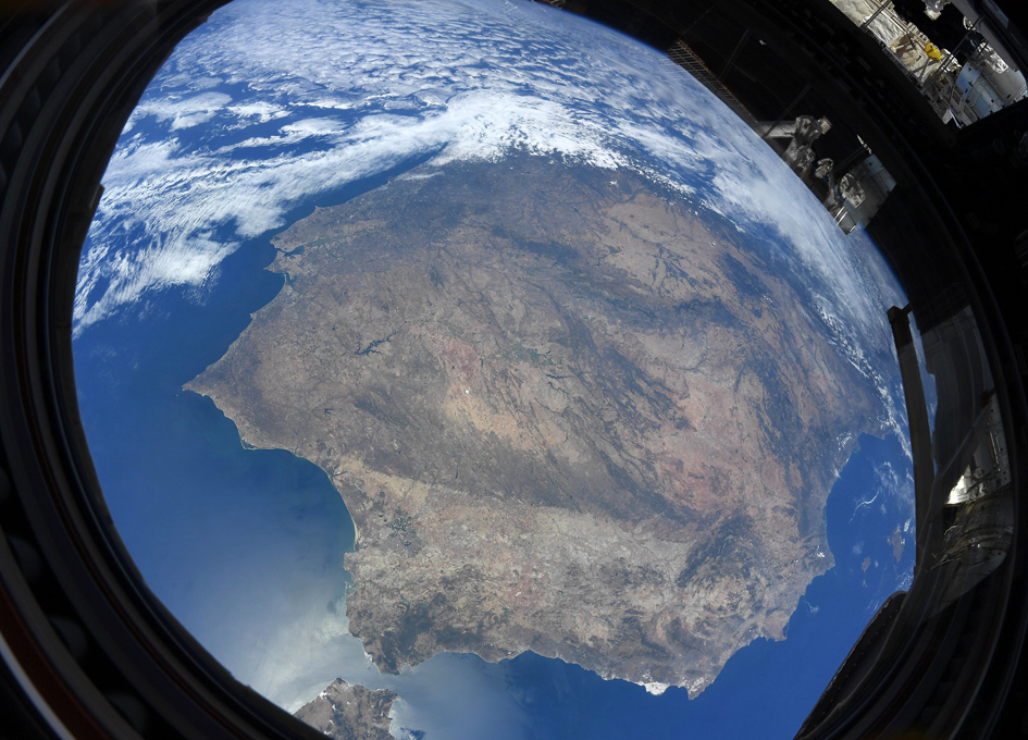 The Iberian Peninsula As Seen From The ISS