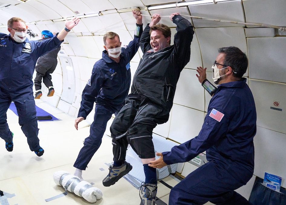 AstroAccess Successfully Completes ZERO-G Parabolic flight with Crew of 12 Disability Ambassadors
