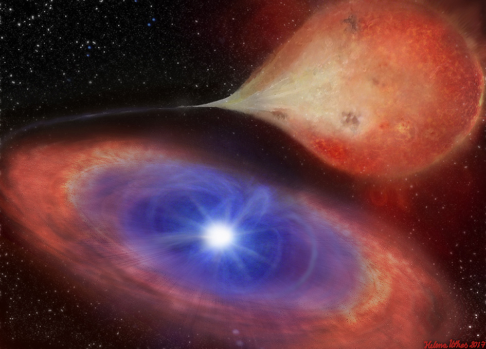 Astronomers See White Dwarf