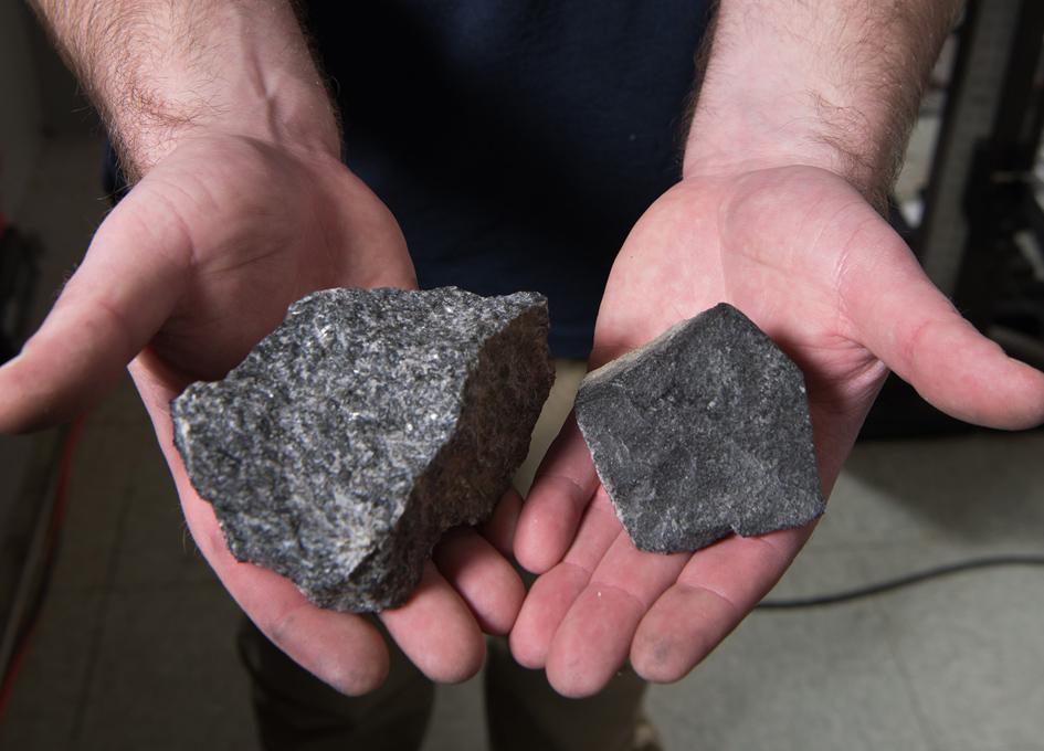 Ballistic Air Guns and Mock Moon Rocks Aid in Search for Durable Space Fabrics