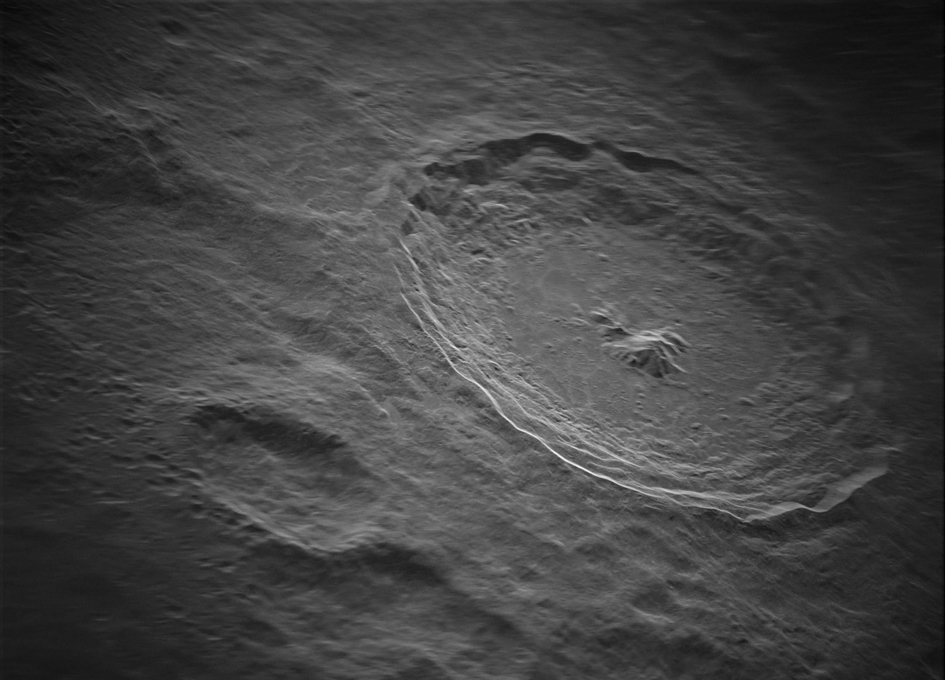 Moon's Tycho Crater Revealed In Intricate Detail