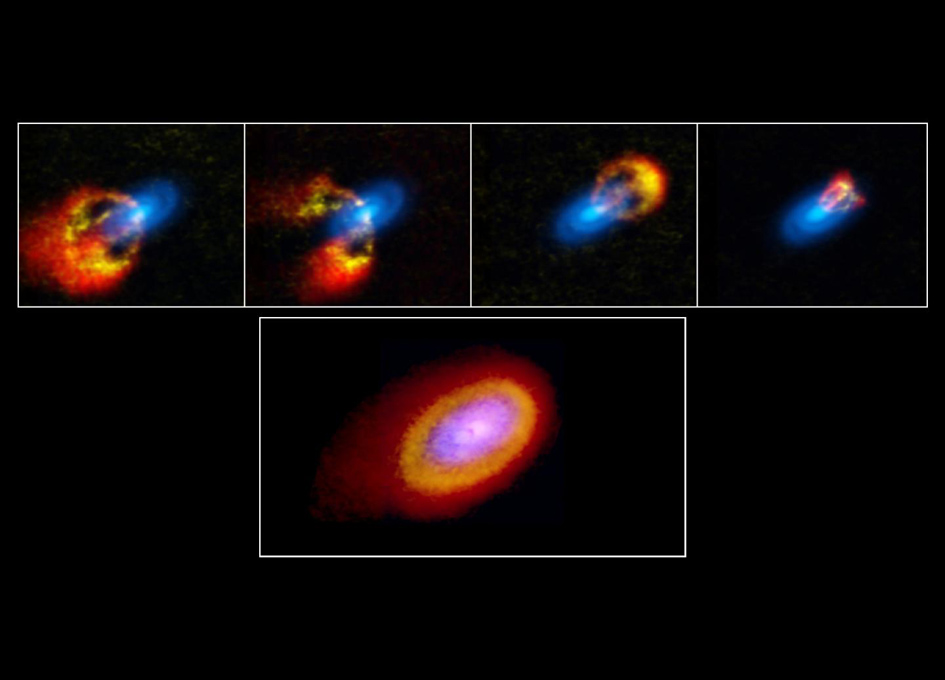 Study Of Young Chaotic Star System Reveals Planet Formation Secrets