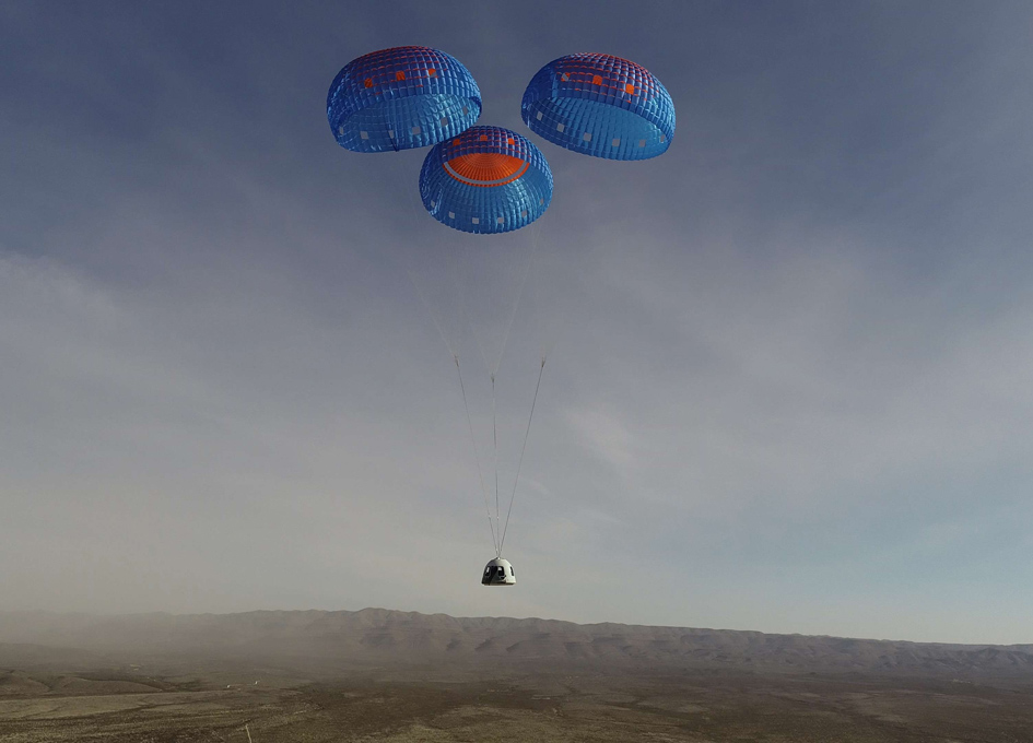 Blue Origin Conducts A Successful Demonstration of Crew Capsule Upgrades