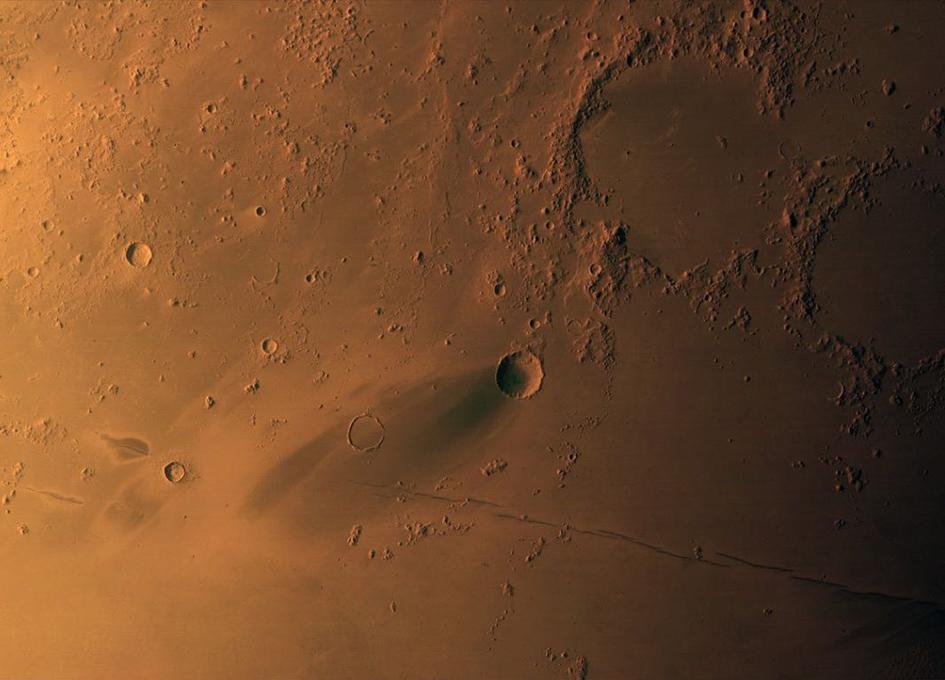 Mars Hope Views Elysium Planetia On Mars