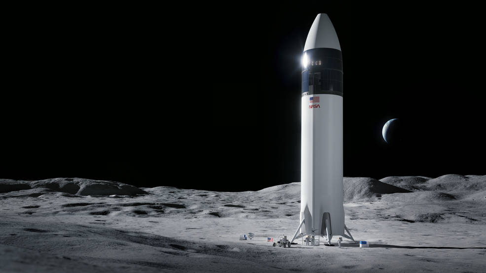 NASA Picks SpaceX to Land Next Americans on Moon