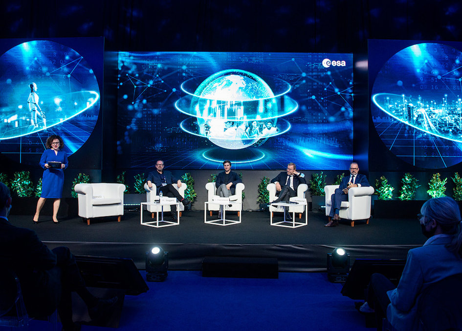 Spotlight On Climate And Tthe New Space Economy At Φ-week 2021