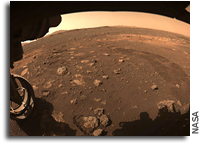 Perseverance Starts To Drive On Mars