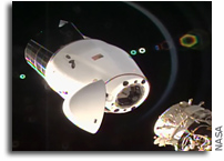 Cargo Dragon Undocks from Station and Heads for Splashdown