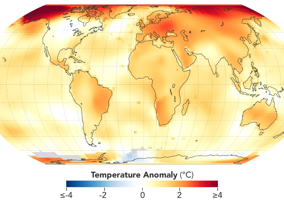 This Week at NASA - Annual Assessment of Global Temperatures