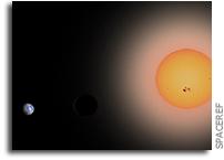 Observability of Hydrogen-rich Exospheres in Earth-like Exoplanets