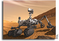 Curiosity Detects Unusually High Methane Levels On Mars