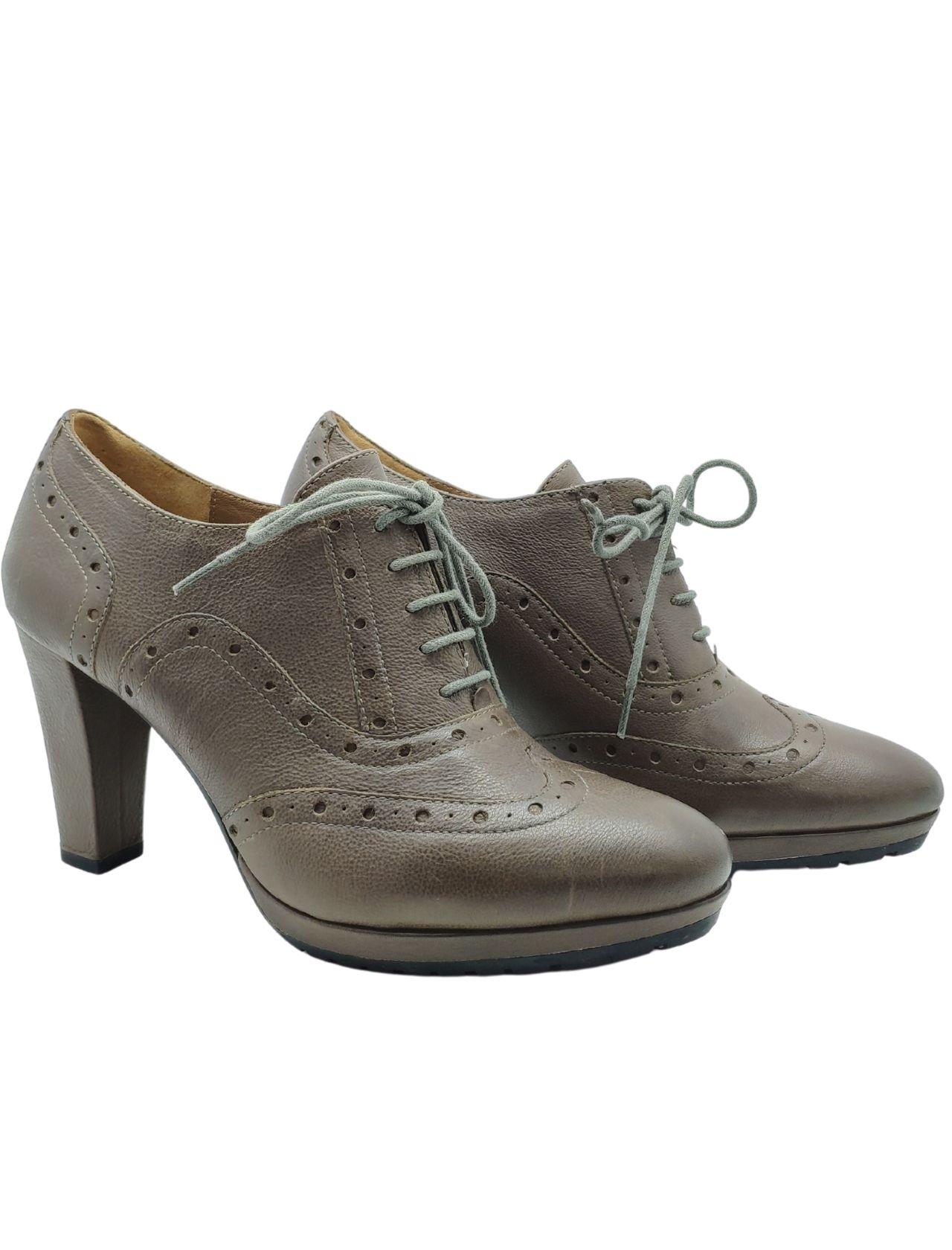 Lace-up Platform Heel Woman Bruno Premi   Lace up shoes   ART1014400FANGO