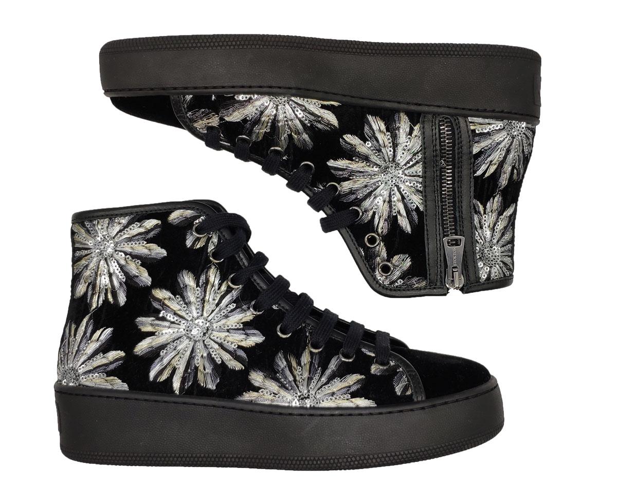 Stokton   Sneakers   620-DNERO/ARGENTO