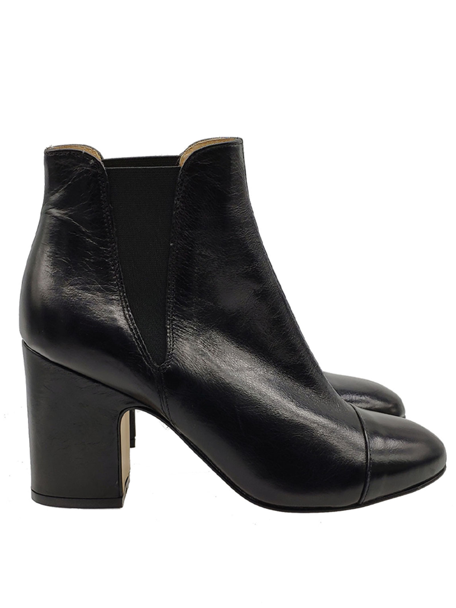 Beatles Women's Ankle Boots Carmens | Ankle Boots | 40312NERO