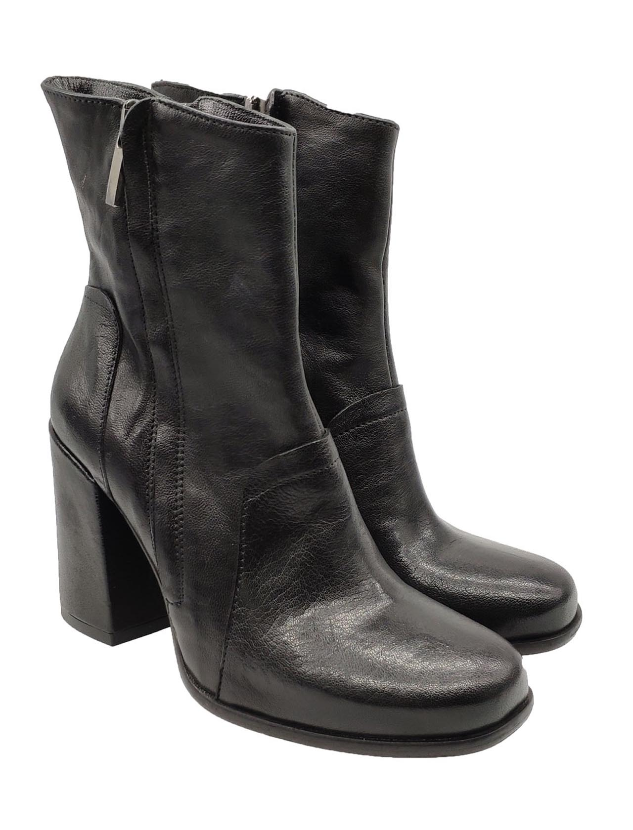 Salvador Ribes   Ankle Boots   EMY2NERO