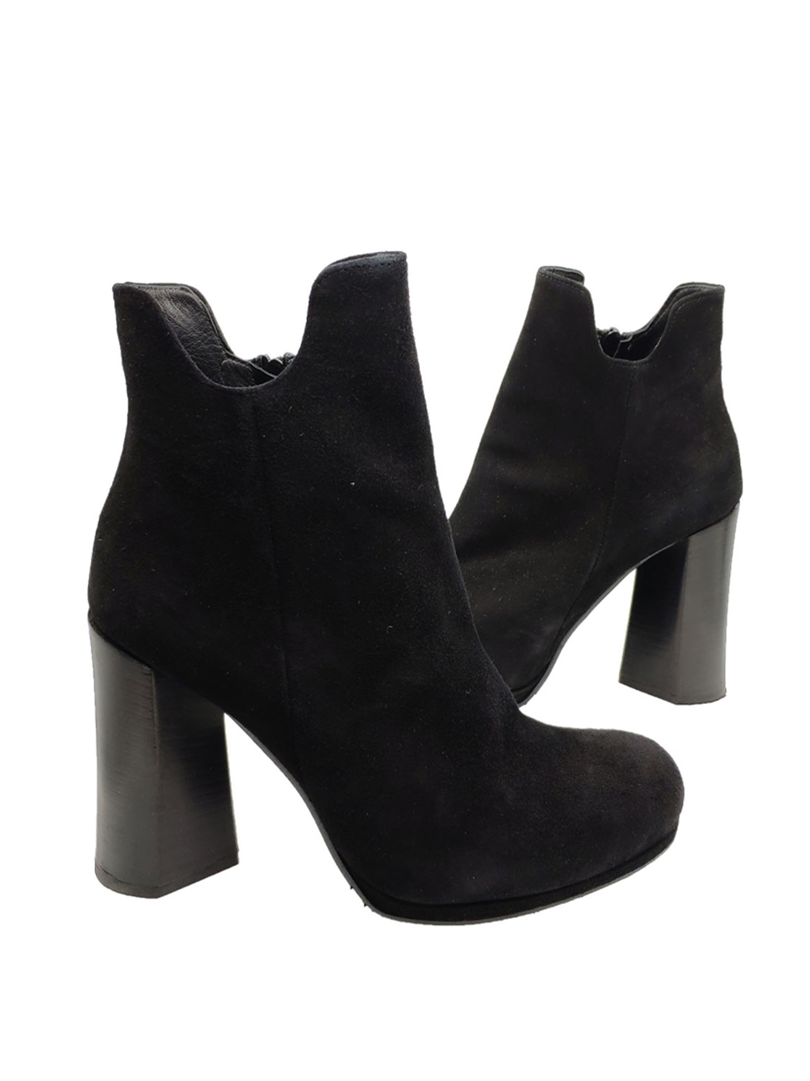 Women's High Ankle Boots Tattoo | Ankle Boots | 314NERO