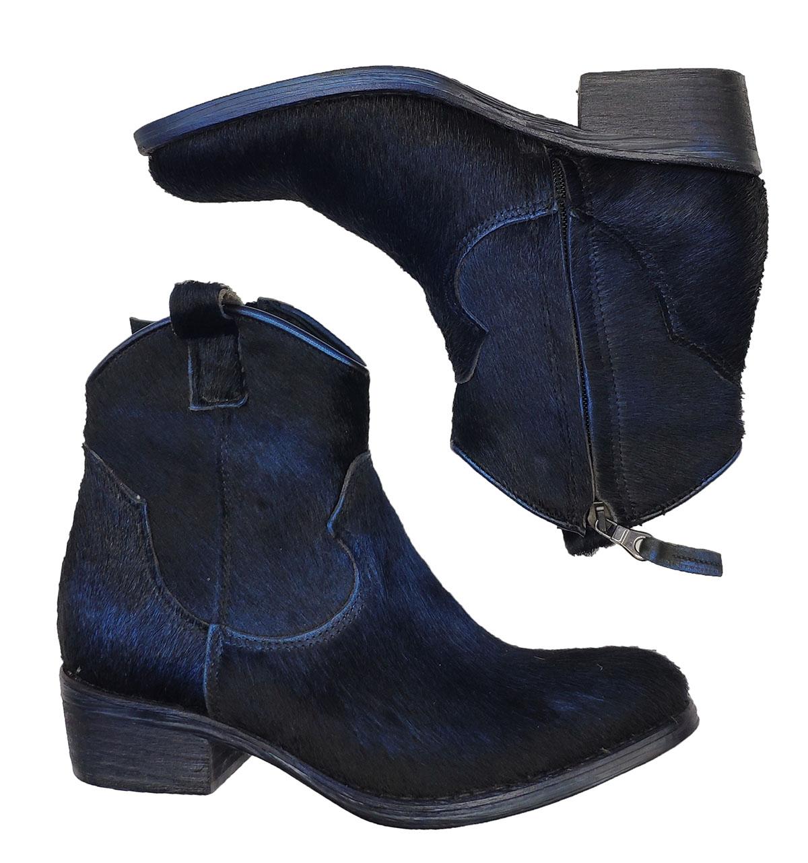 Zoe | Ankle Boots | TEX10CAVALLINO BLU