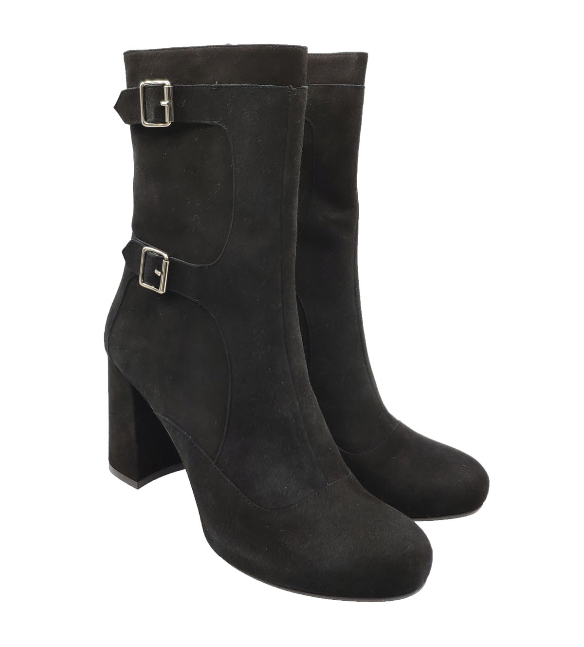Greige | Ankle Boots | 2828NERO
