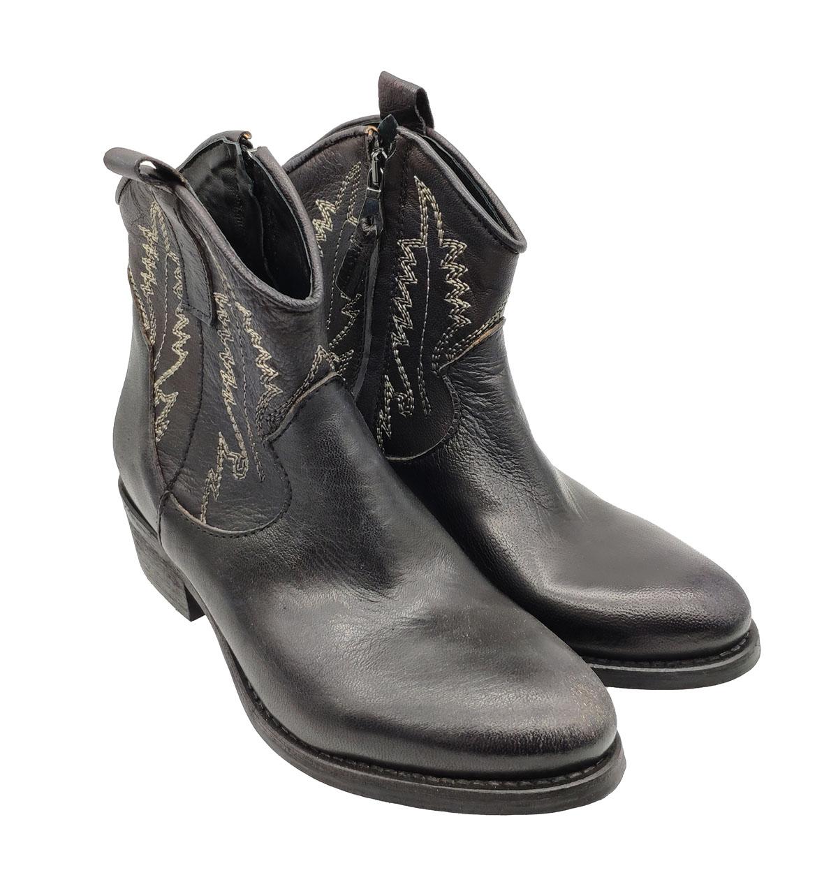 Zoe | Ankle Boots | TEXR2NERO