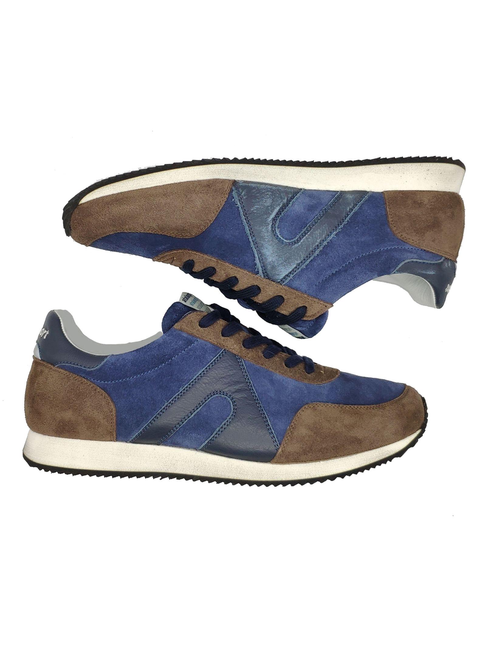 Men's Running Sneakers Atala | Sneakers | 10011MARRONE/BLU