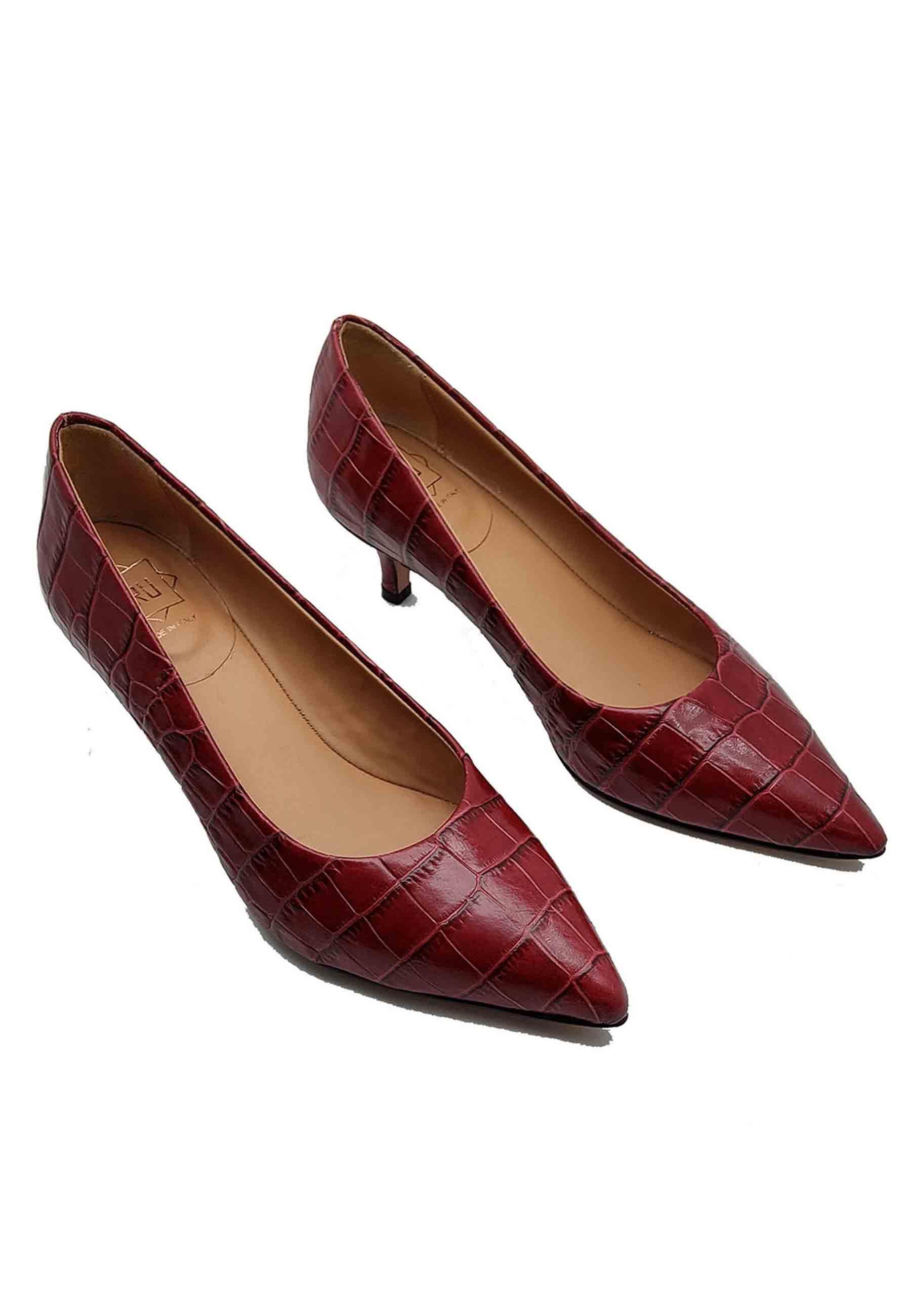 Women's Low Heel Décolleté Fru | Pumps | 5201SROSSO