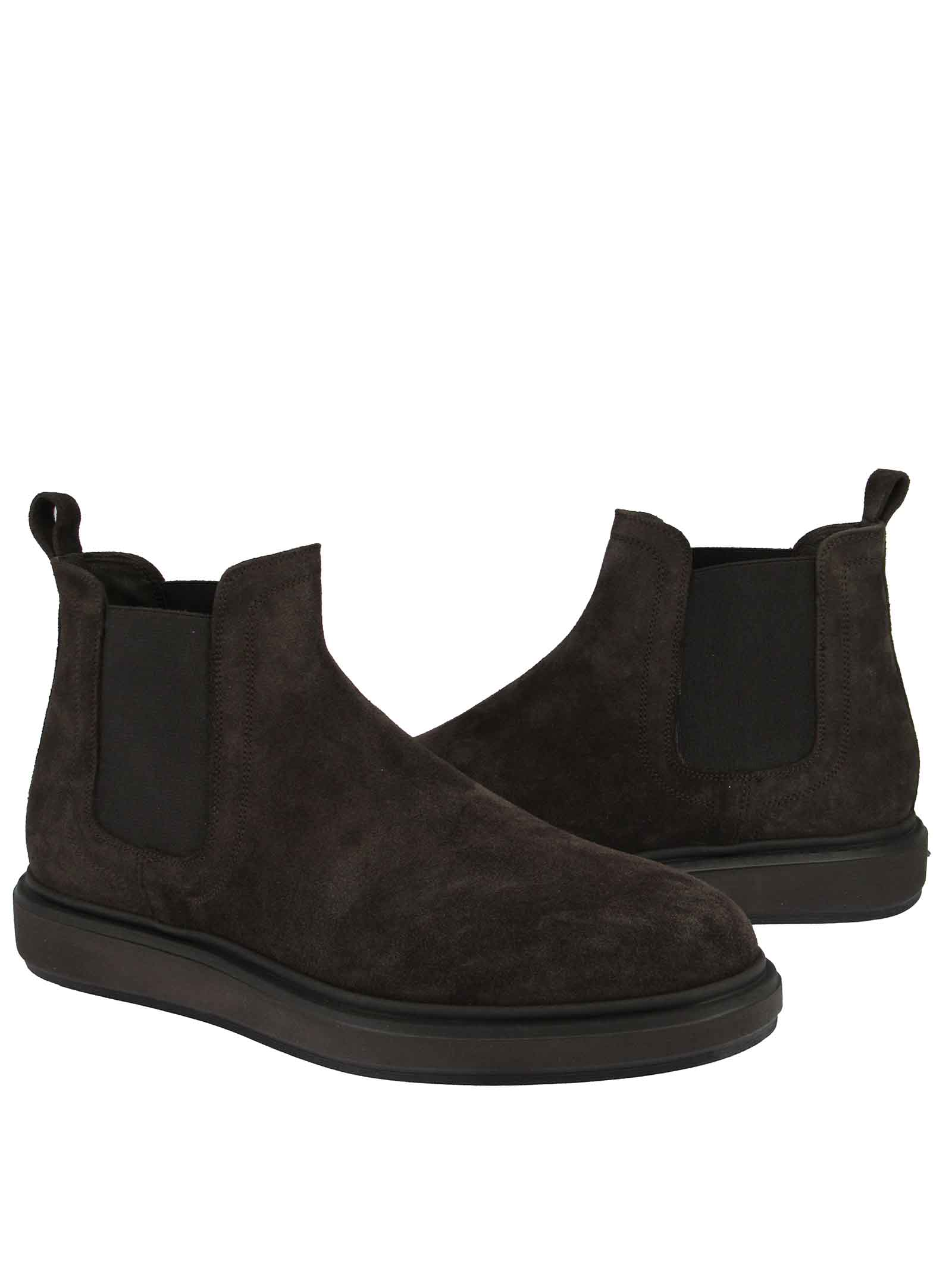 Men's Chelsea Wedge Boots Jerold Wilton | Ankle Boots | 1072CAM/MORO