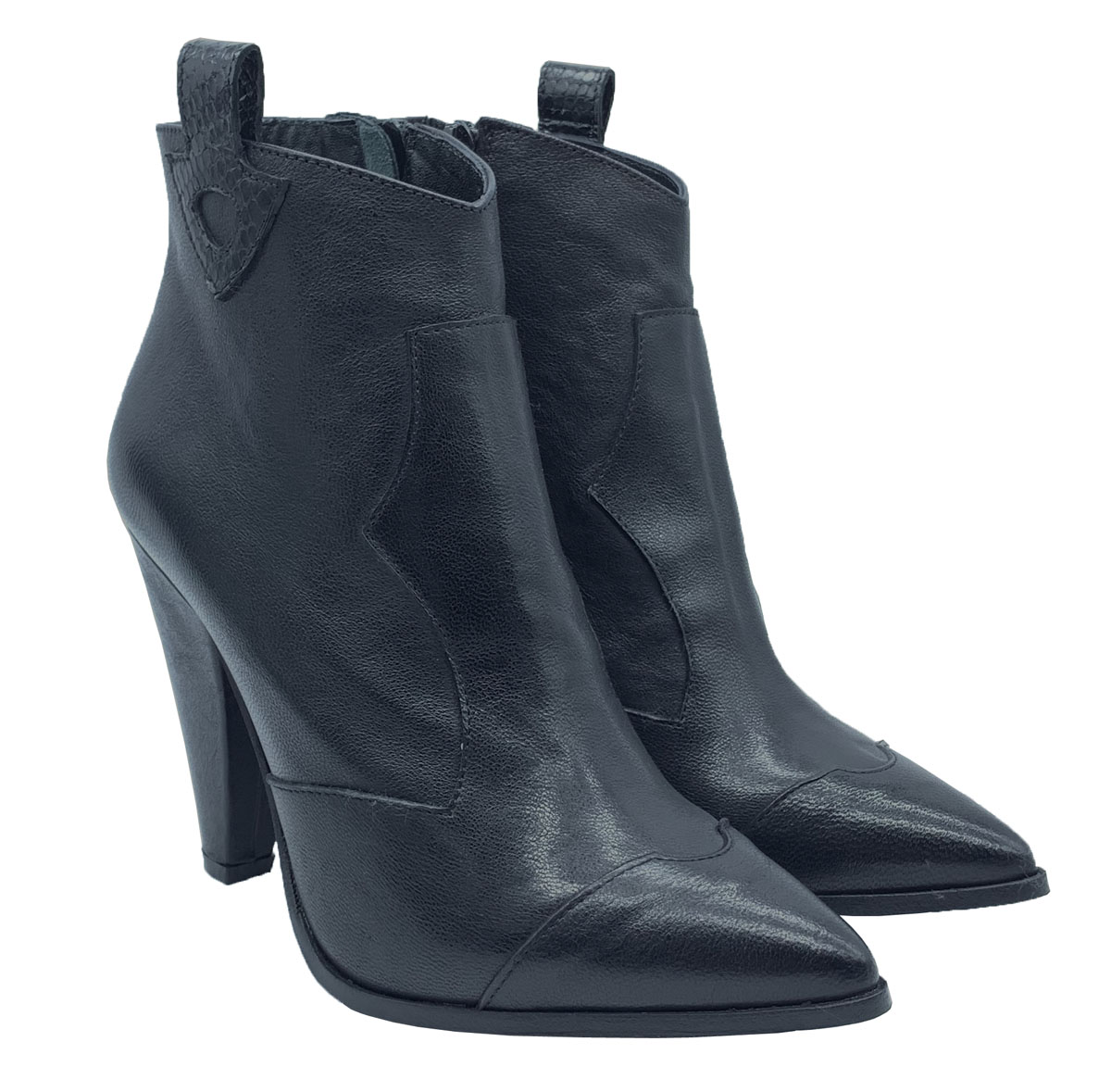 Women's Texan Ankle Boots Spatarella | Ankle Boots | 690CLNERO
