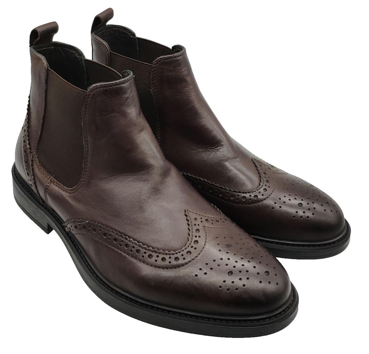 Chelsea Boot Men Valerio   Ankle Boots   9404MORO