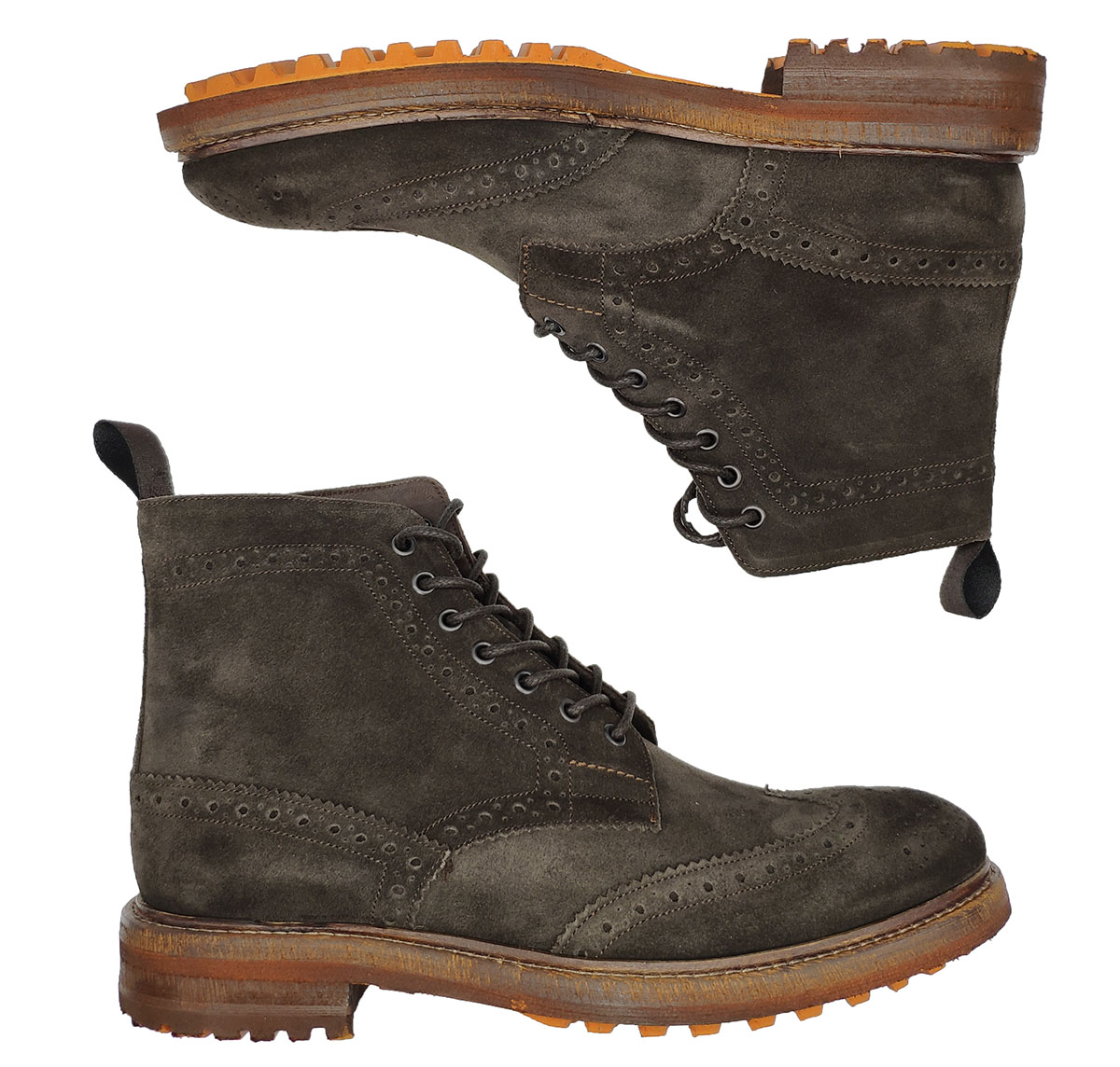 Diplomatic Men's Lace-up Ankle Boots Jerold Wilton   Ankle Boots   997MORO