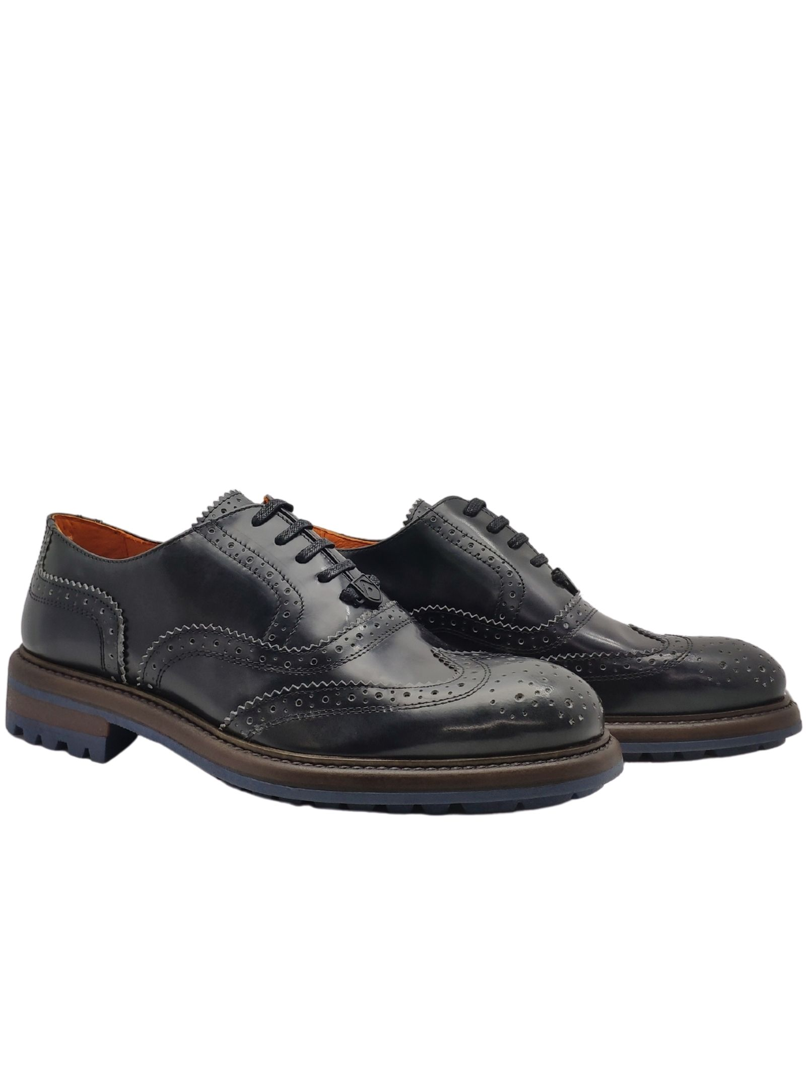 Gray Man Lace Up Ambitious | Lace up shoes | 7907GRIGIO