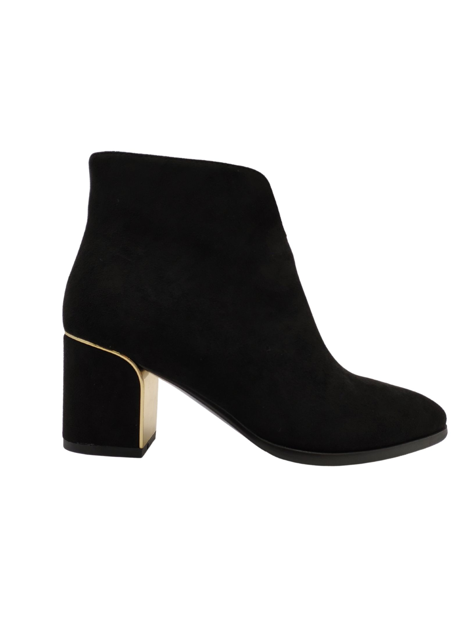 Women's Gold Heel Ankle Boots Exe   Ankle Boots   XJ116215NERO