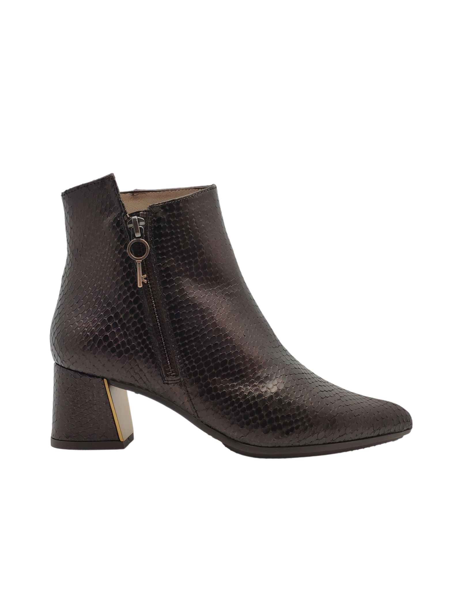 Women's Zip Ankle Boots Hispanitas | Ankle Boots | 00728MORO