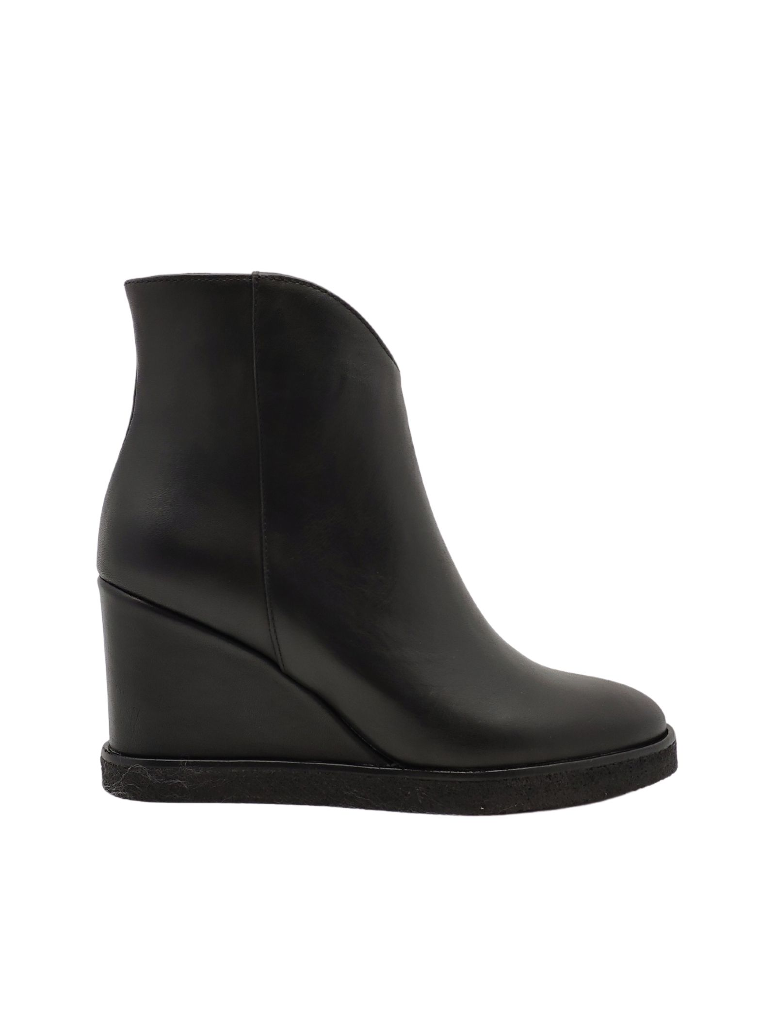 Wedge Ankle Boots Woman Spatarella | Ankle Boots | P1000NERO