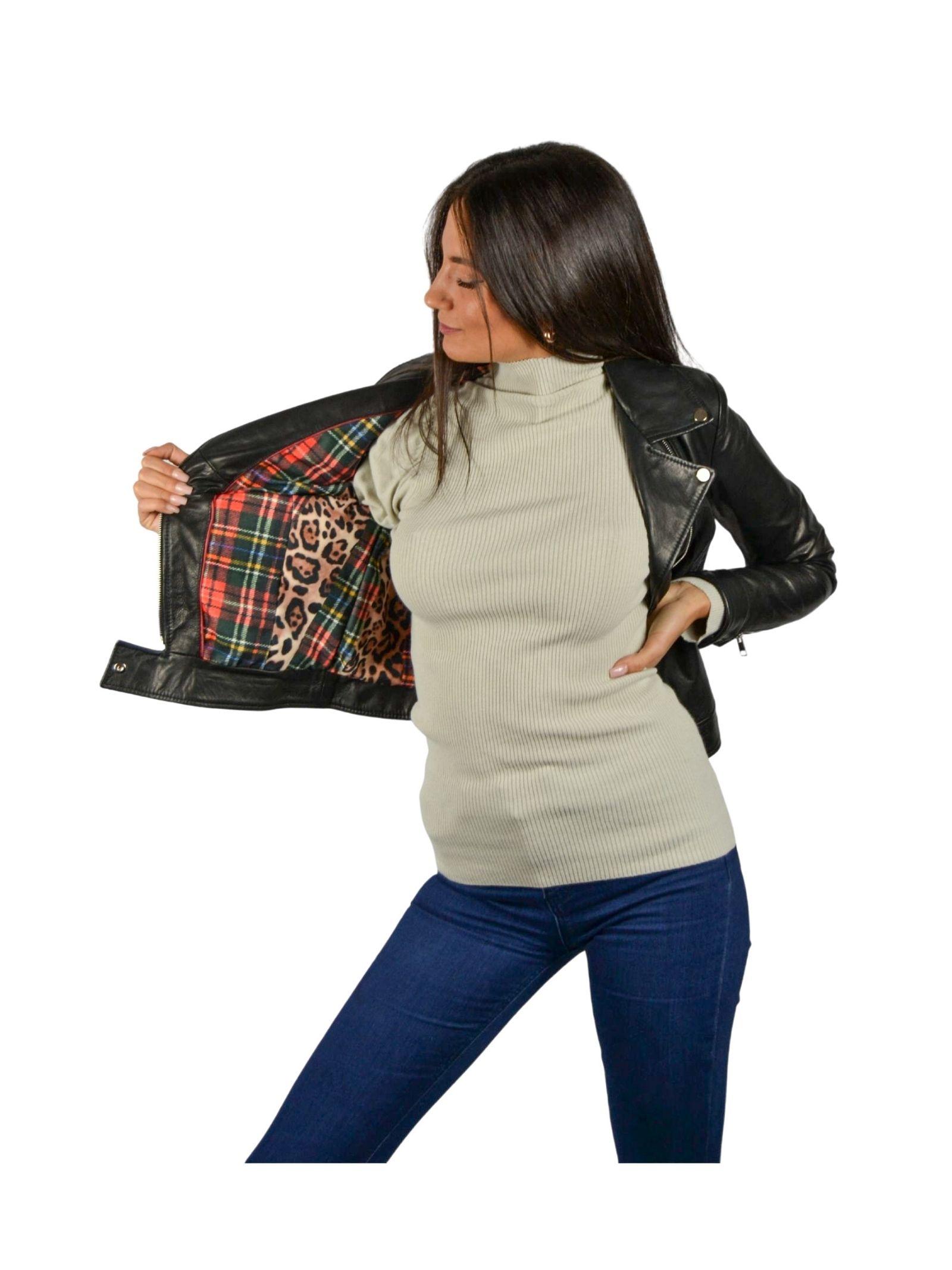 Chiodo Woman Jacket Spatarella   Coats and jackets   P368NERO
