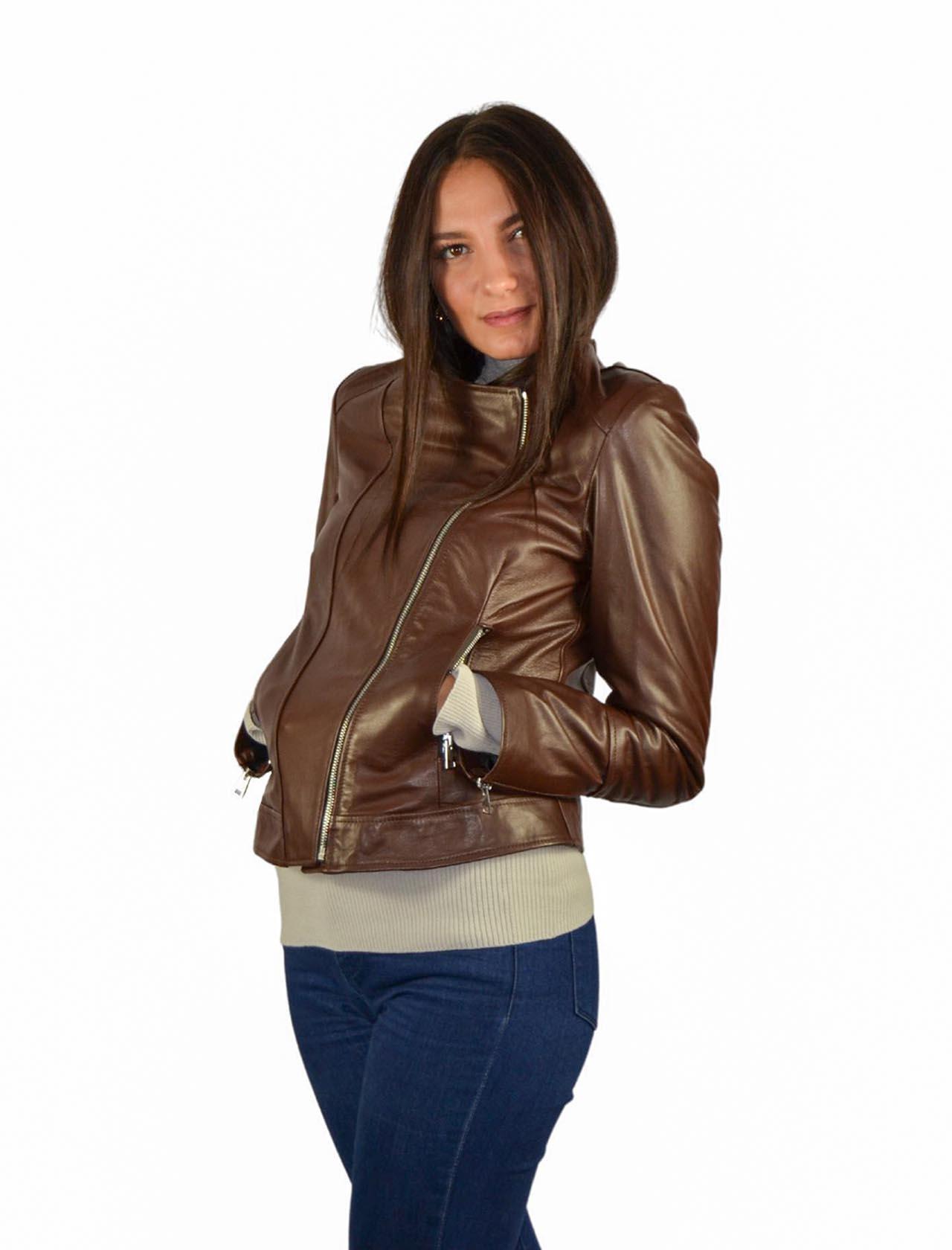 Short Jacket Woman Spatarella | Coats and jackets | P381MORO