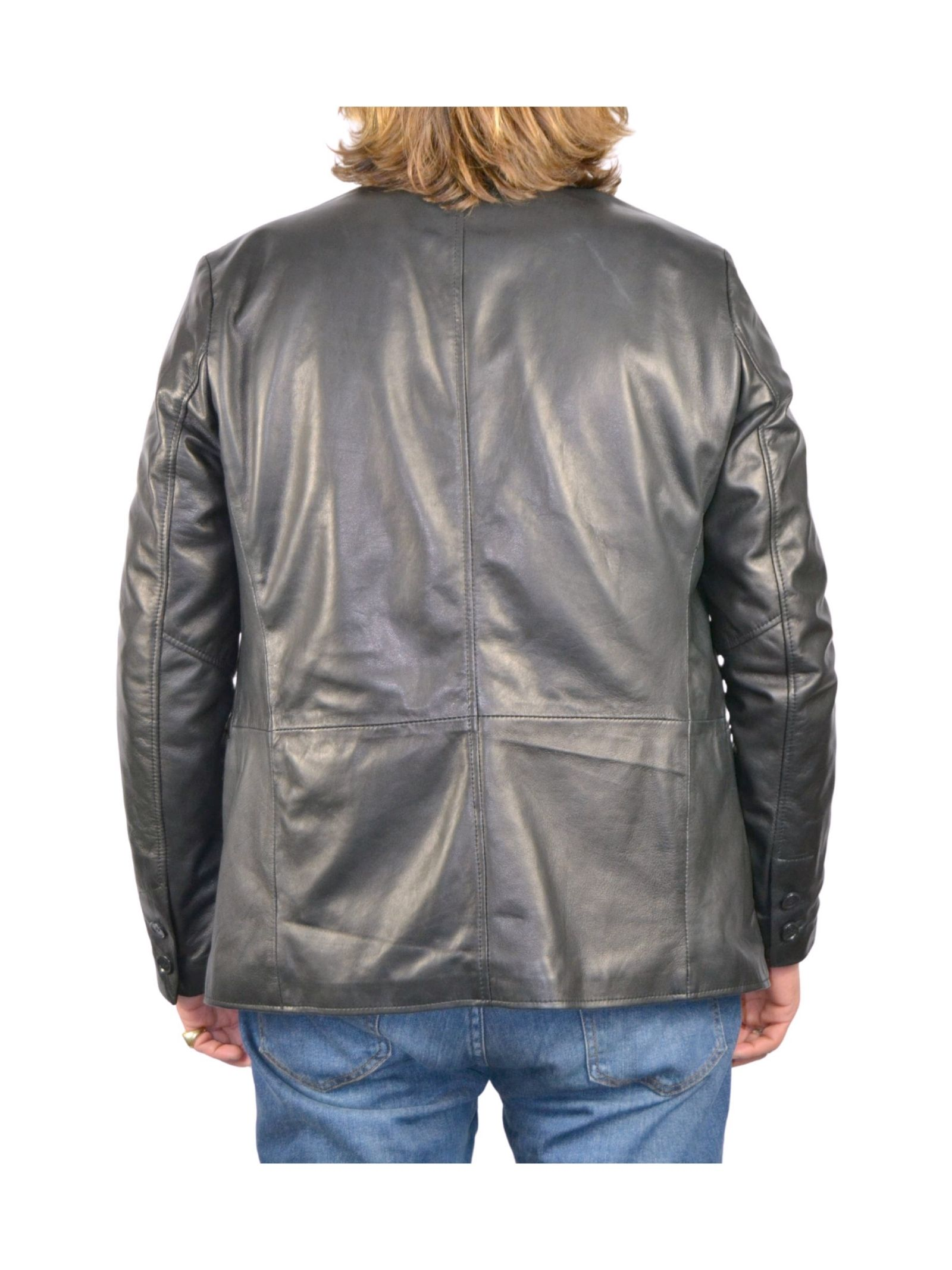 Men's Zipper Jacket Spatarella | Coats and jackets | P530NERO