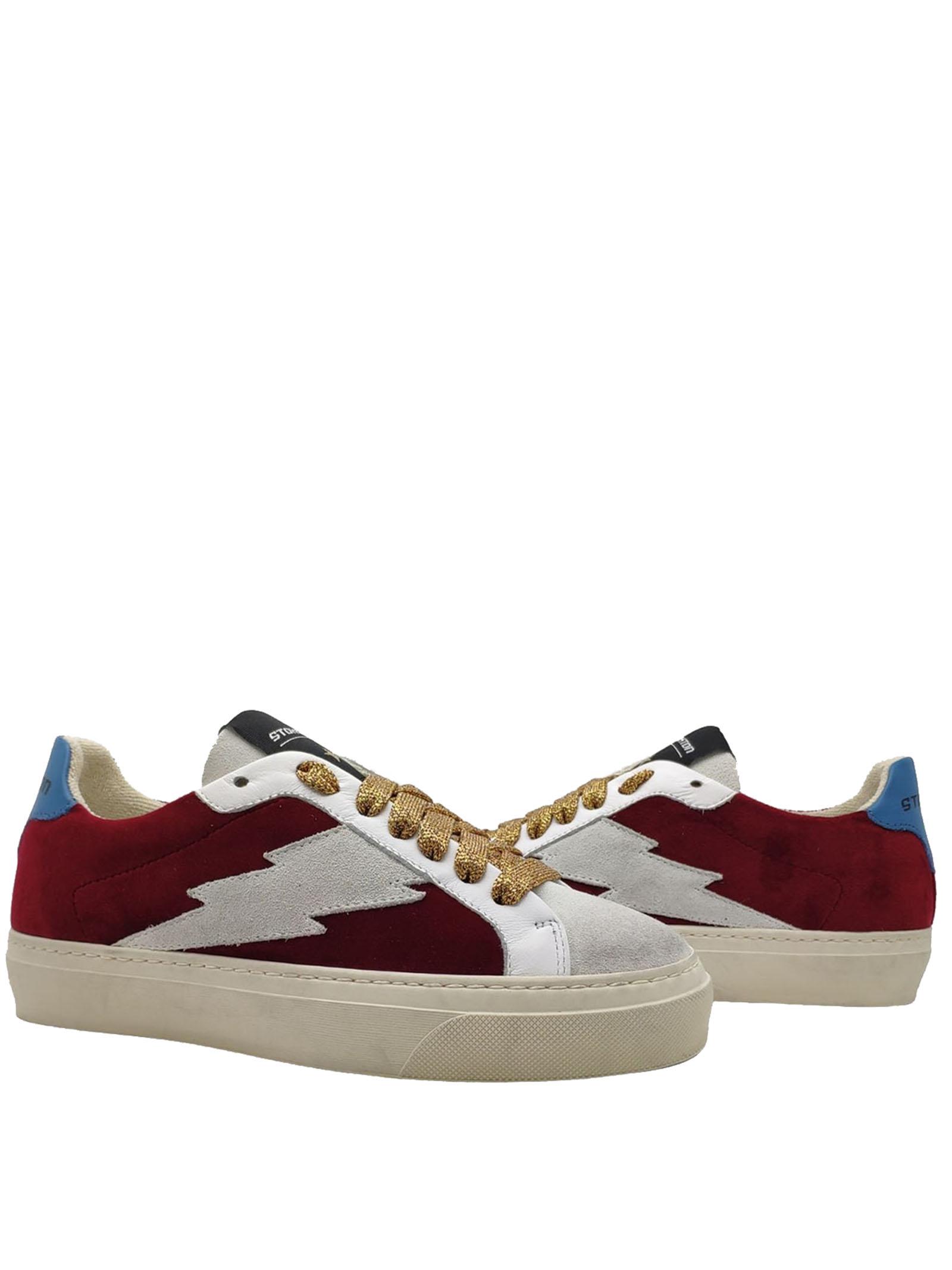 Women's Velvet Sneakers Stokton | Sneakers | BLAZE-DBORDEAU