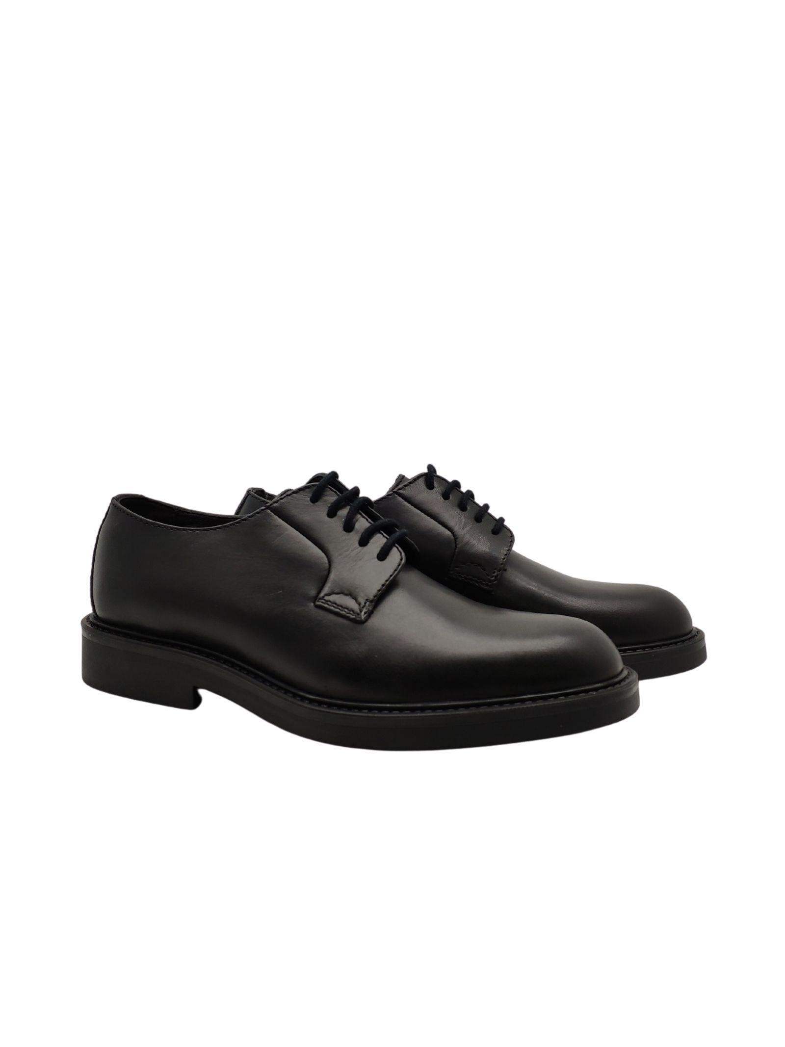 Valerio | Lace up shoes | T1101NERO