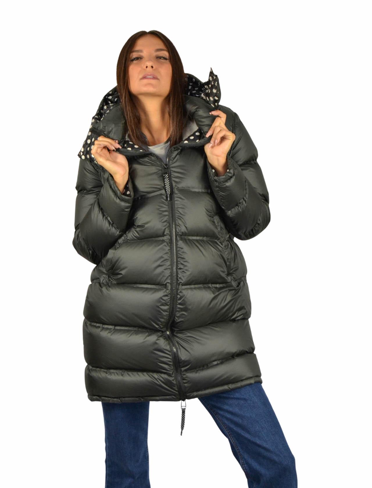 Piumino Donna Nero Maliparmi   Coats and jackets   JB53115016220000
