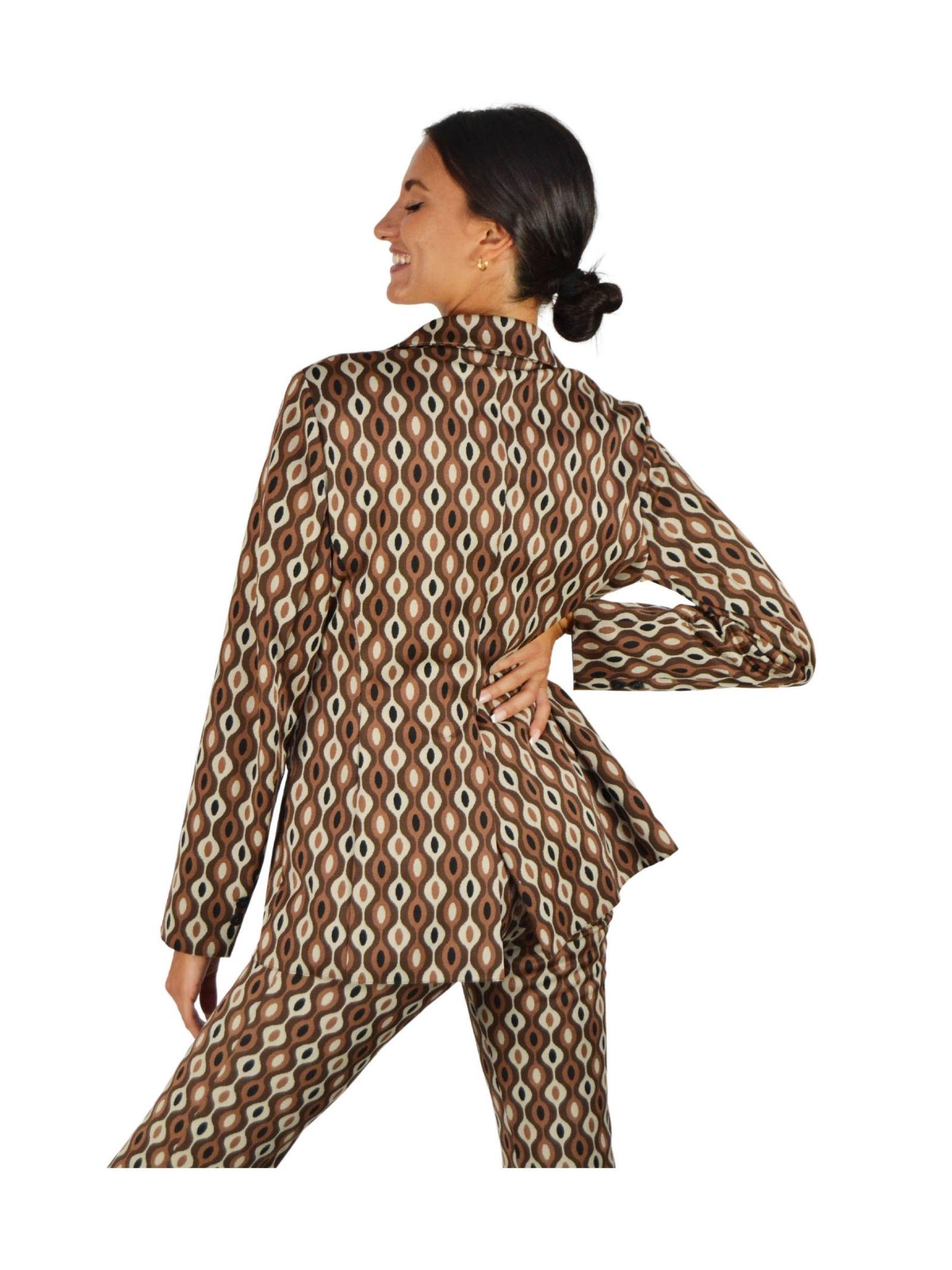 Giacca Donna Naturale Maliparmi | Cappotti e Giacche | JD638060033B1218