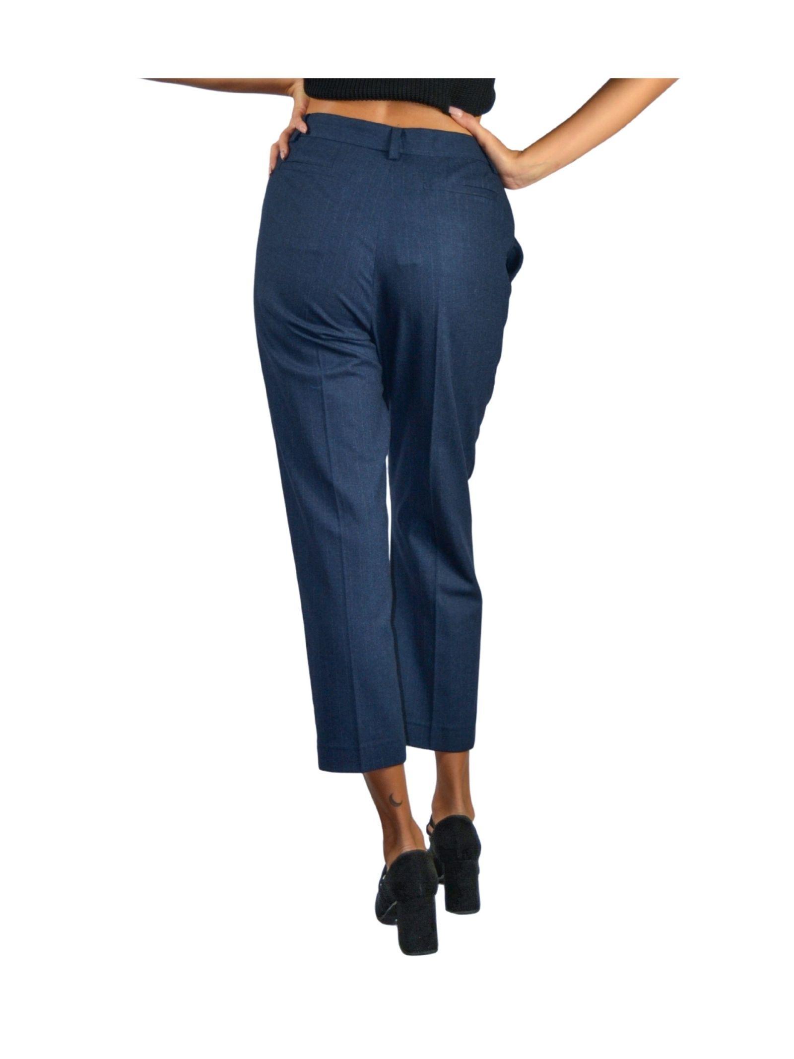 Pantalone Donna Blu Navy Maliparmi | Gonne e Pantaloni | JH70532018780025