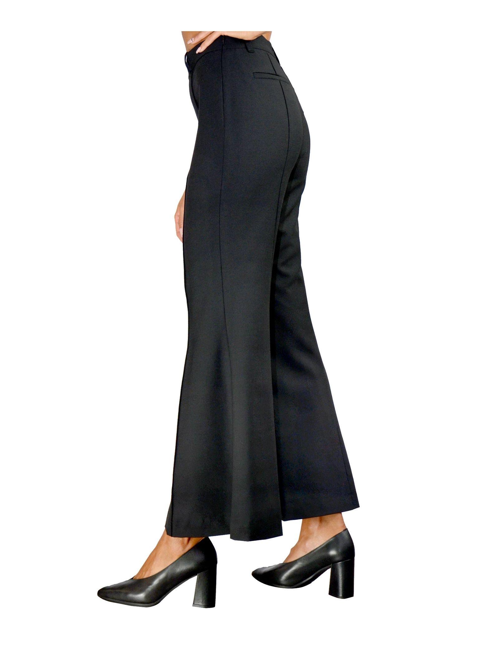 Black Woman Trousers Maliparmi   Skirts and Pants   JH74452018820000