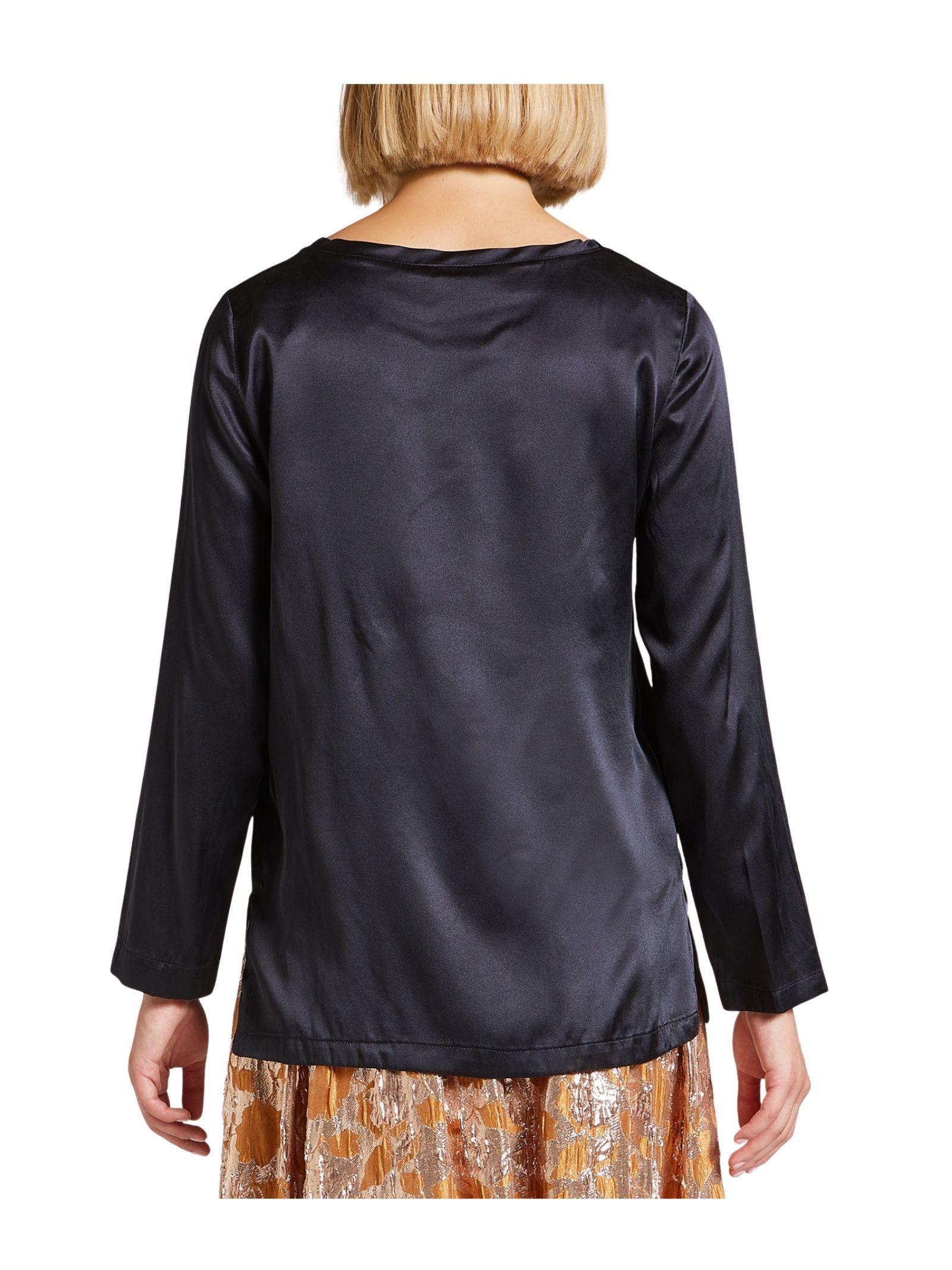 Women's Black T-shirt Maliparmi | Shirts and tops | JM40603102120000