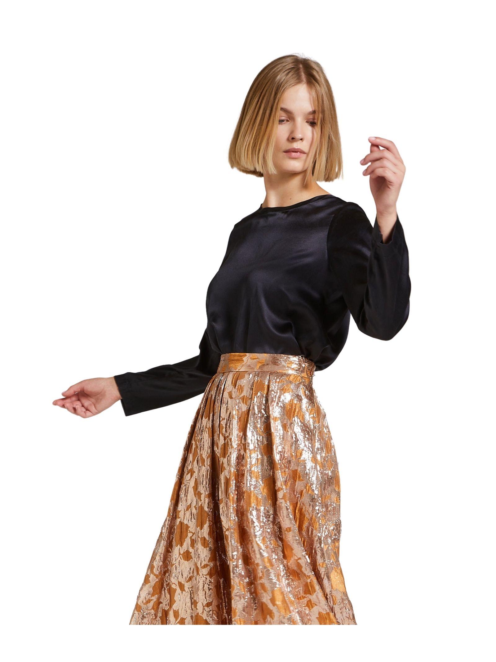 T-shirt Donna Nero Maliparmi | Camicie e Top | JM40603102120000