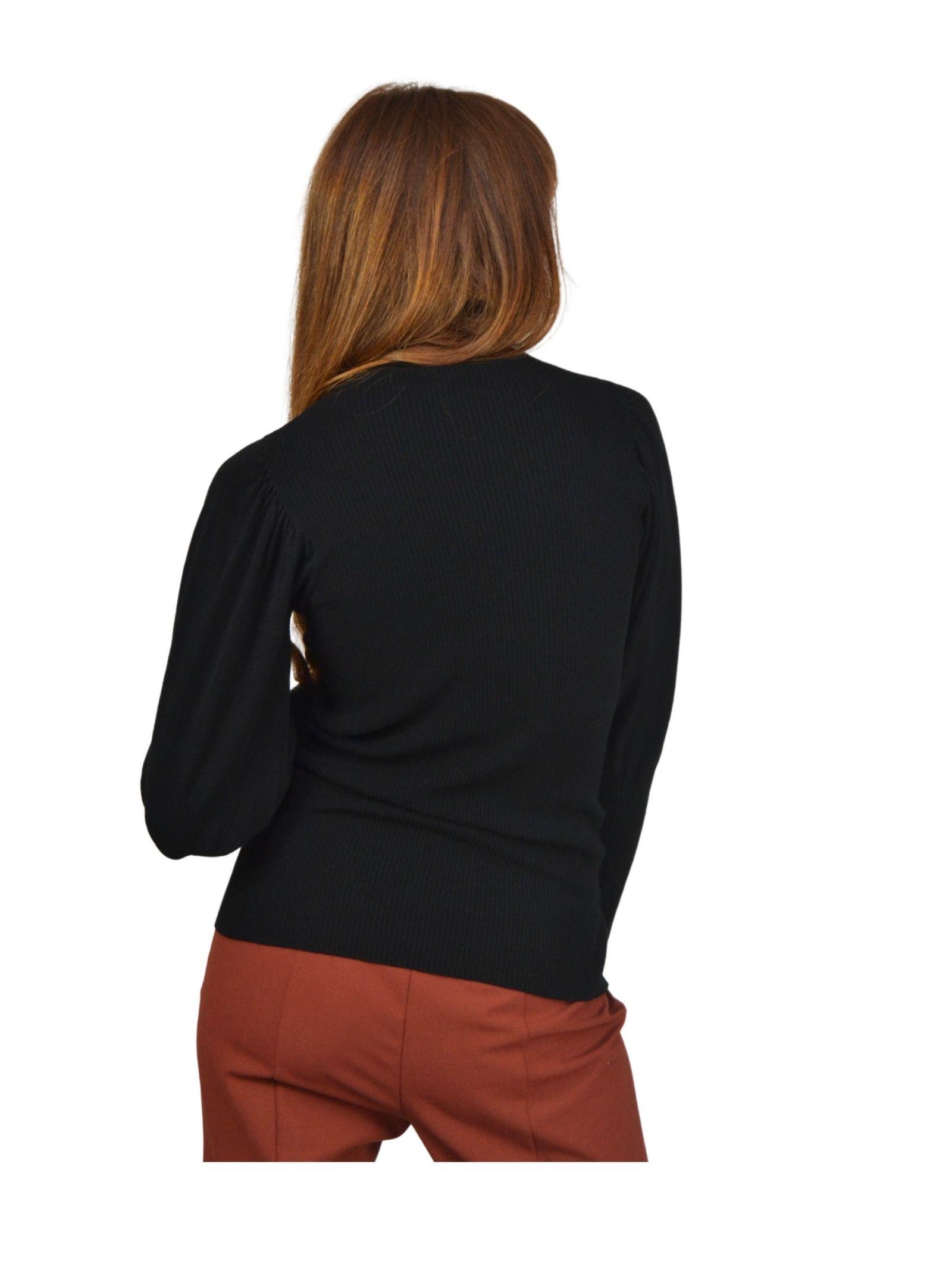Women's Black Sweater Maliparmi | Knitwear | JQ48517047520000