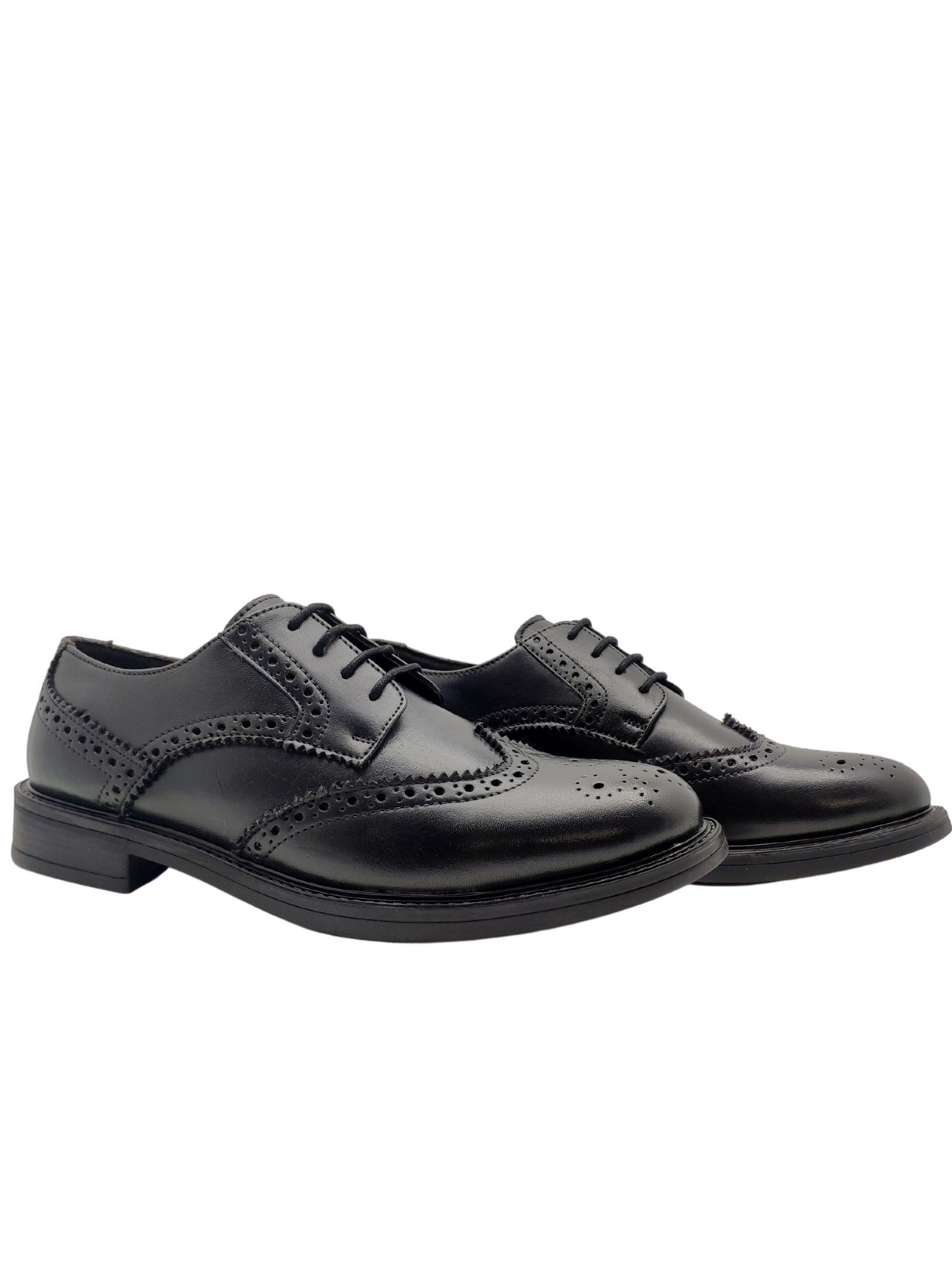 Men's Stitched Lace-ups Marina Militare | Lace up shoes | 821NERO